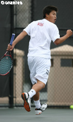 Men's Tennis Falls To Nebraska 6-1