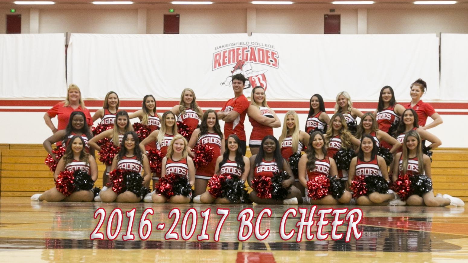team picture of cheer