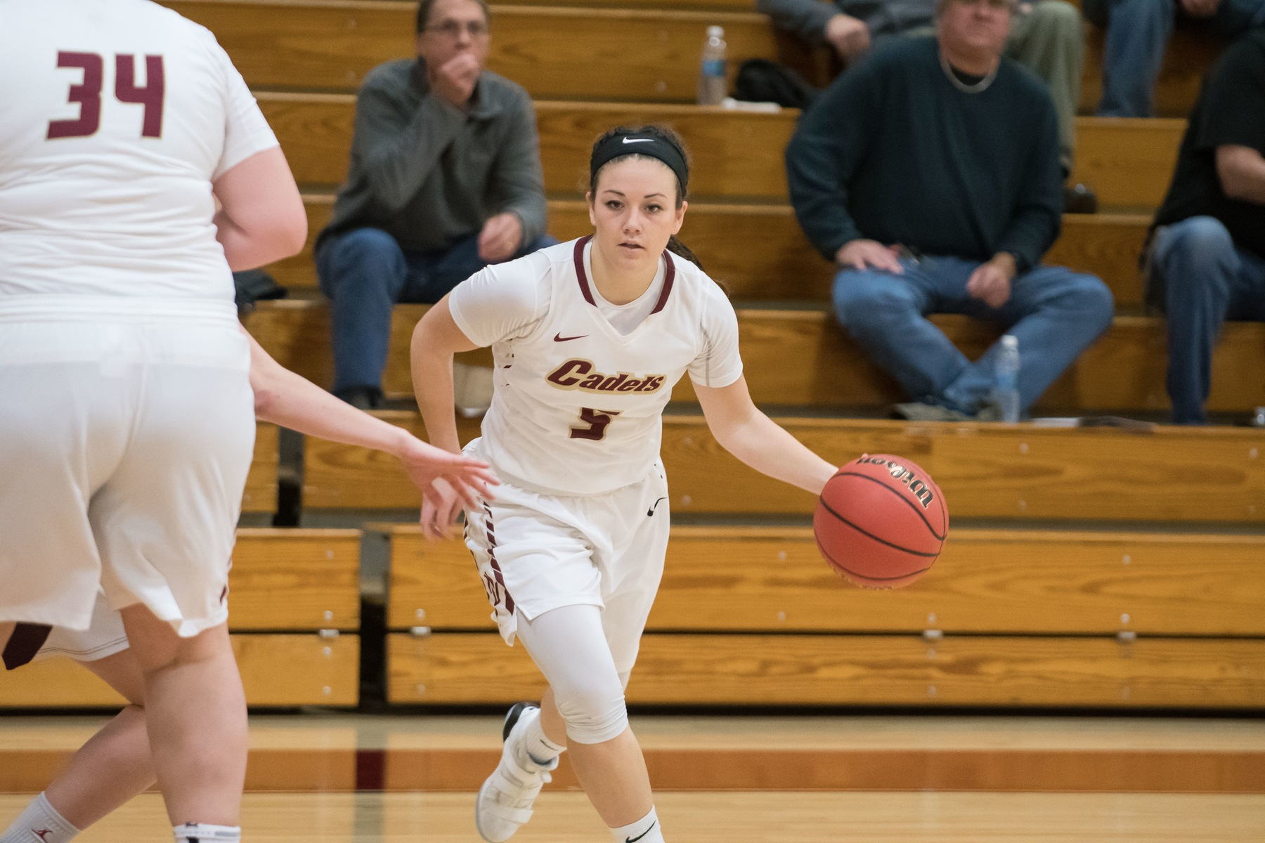 Women's Basketball: Cadets Fall to Regis, 58-54