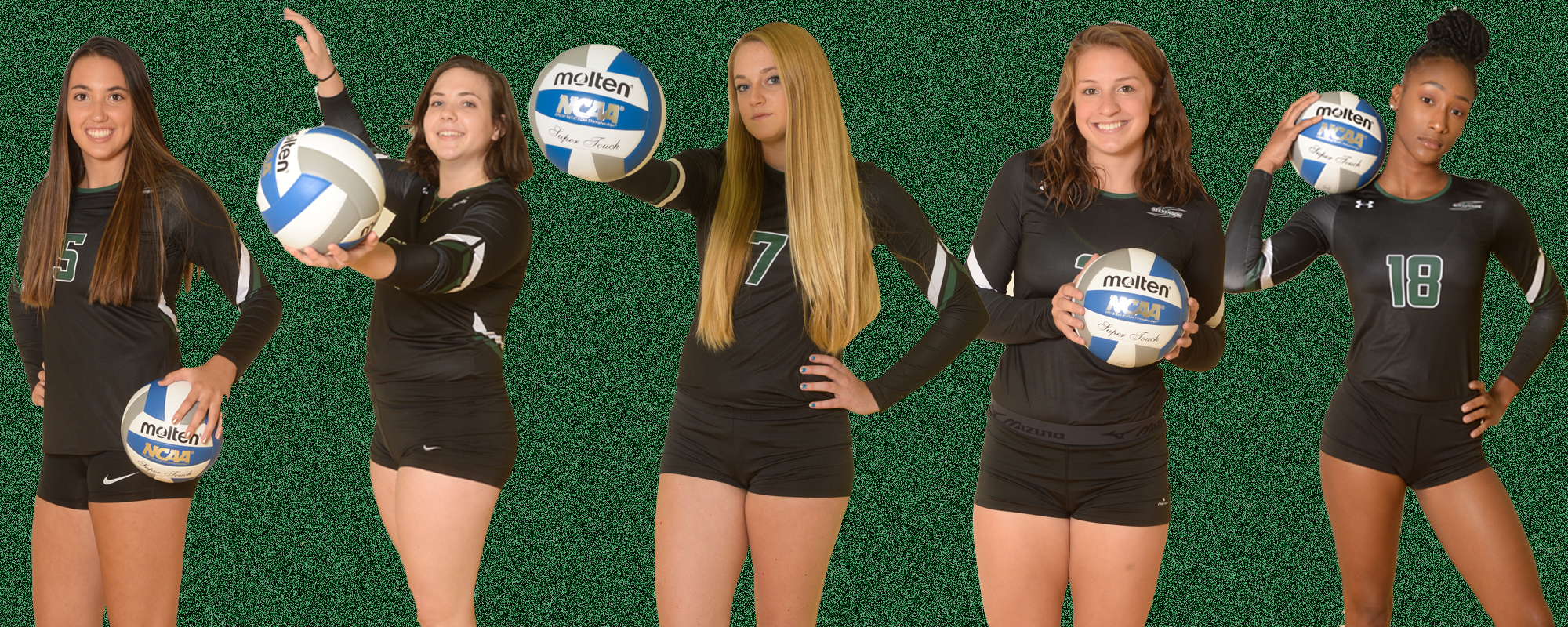 Five from Women's Volleyball Named MAC Commonwealth All-Conference