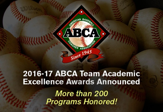 Walsh Baseball Earns ABCA Team Academic Excellence Award Second Time