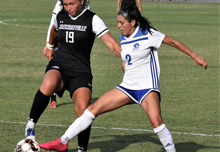 Blinn College Women's Soccer Team Downs Jacksonville College 3-1