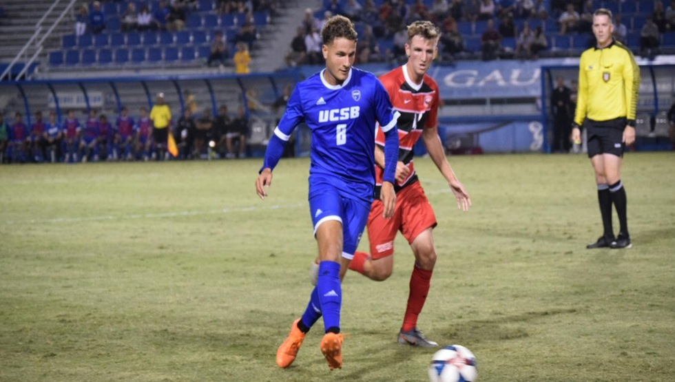 The Gauchos were defeated by Virginia Tech at Harder Stadium on Sunday night. (Photo by Gabrielle Penner)