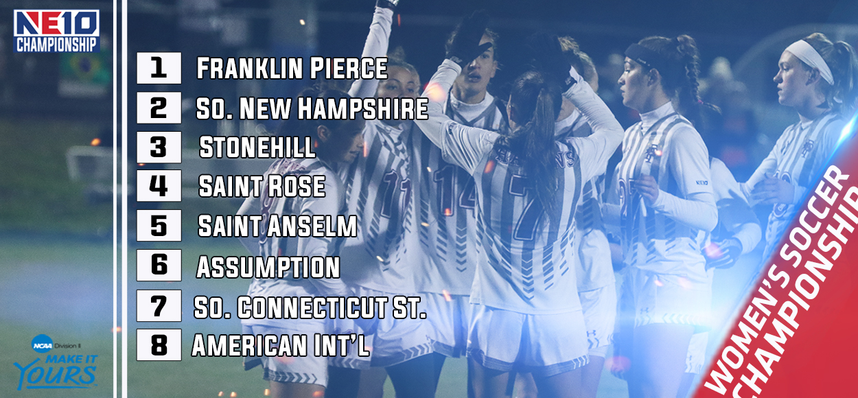 Embrace the Victory: Franklin Pierce Enters NE10 Women's Soccer Championship as No. 1 Seed