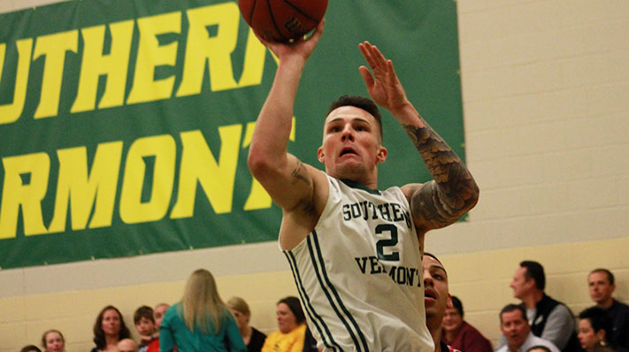 Pierre's Record-breaking 47 Points Lead Southern Vermont to 99-84 Home Win over MCLA