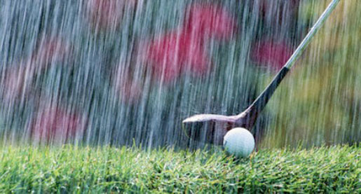 Nothin' but wet: All of EKU El Diablo Tournament rained out