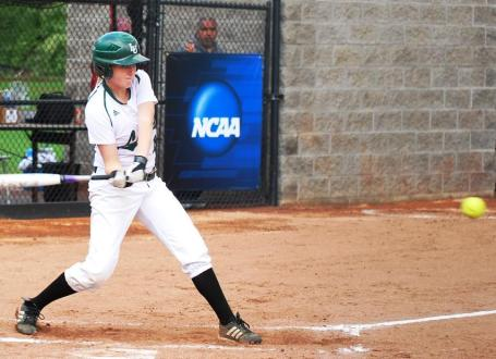 Lesley softball finishes as national batting average leader