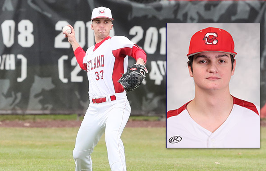 Cortland baseball takes home Athlete and Pitcher of the Week
