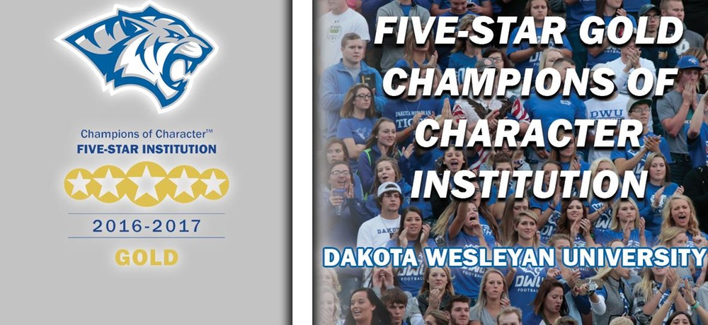 DWU Athletics named Five-Star Champions of Character; earns highest honor with perfect score