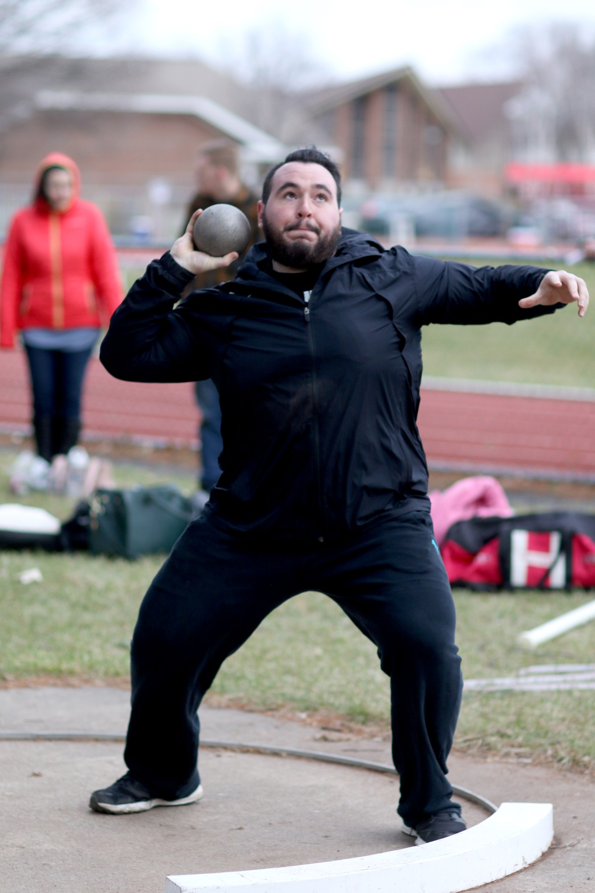 Sage Men's Track and Field Team competes at Mt. Holyok Invitational