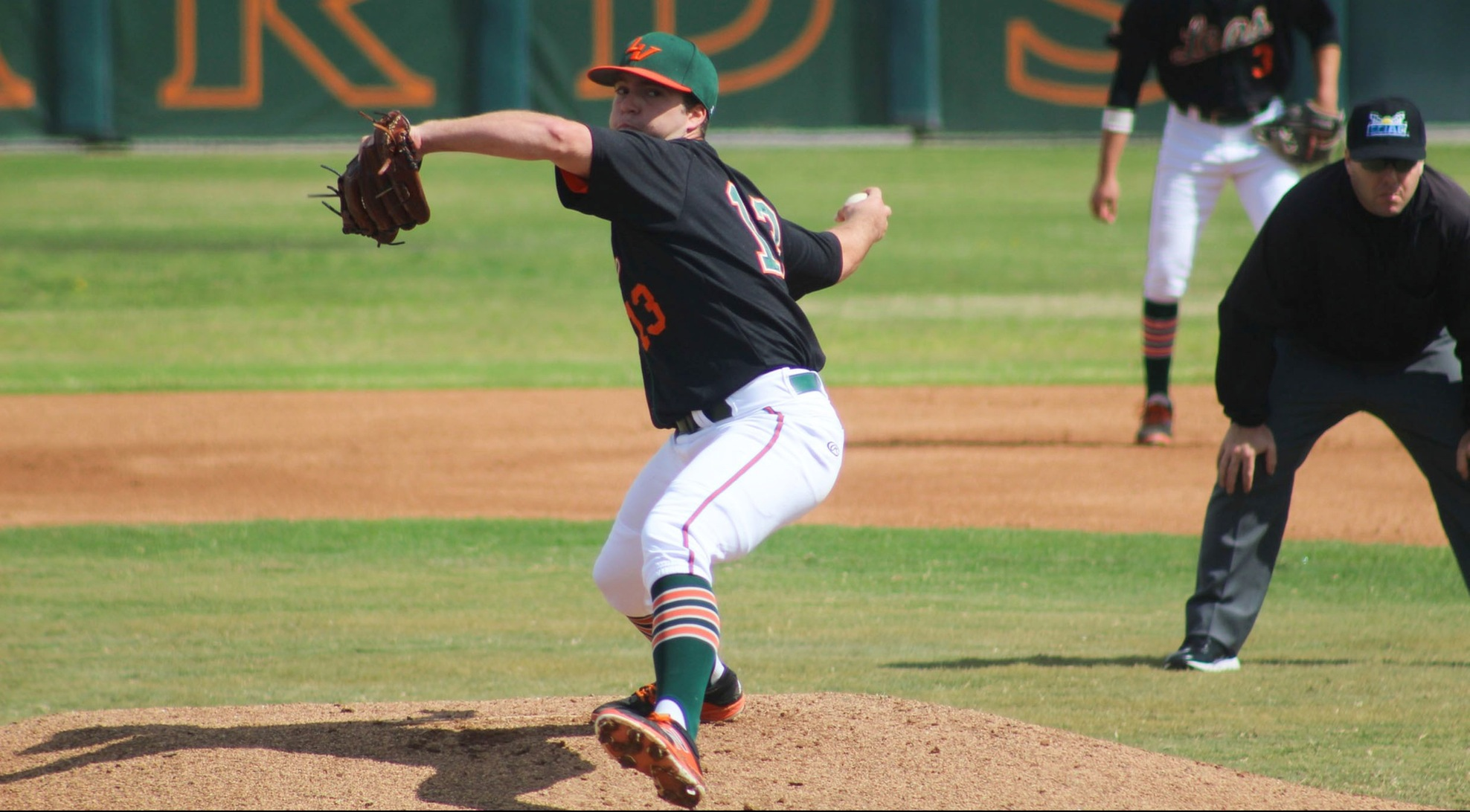 Norman deals, Leopards beat Oxy twice
