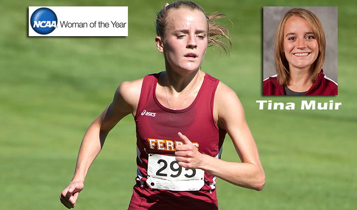 Former Bulldog Tina Muir Honored At NCAA Woman Of Year Banquet