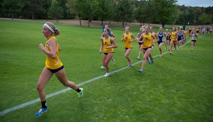 Women's Cross Country Runs Away With First Place