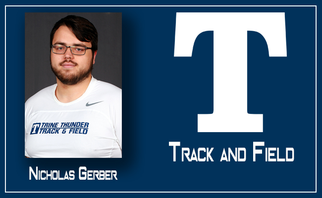 Members of Men's Track & Field Team Compete in Hillsdale Invitational