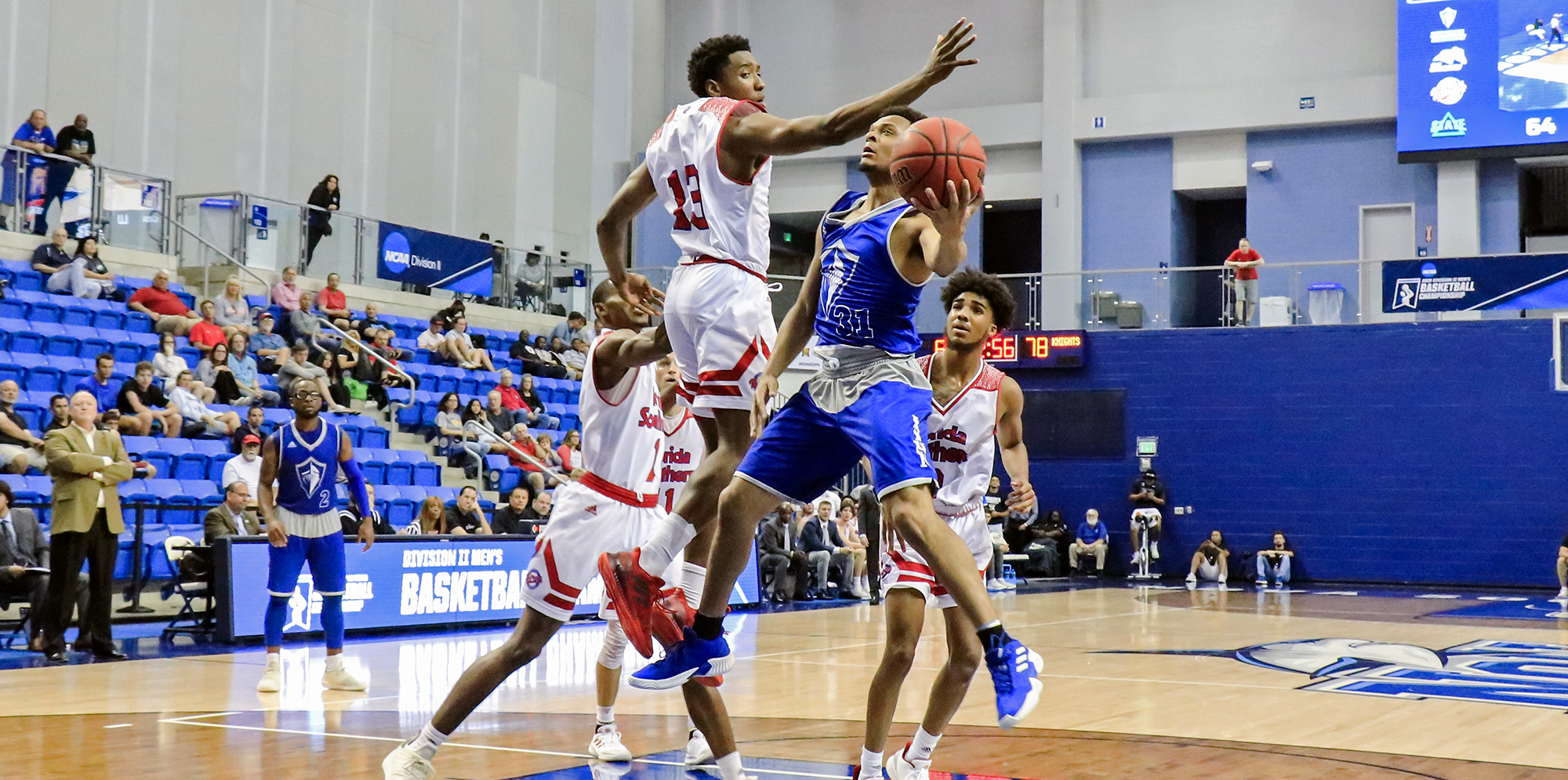 Sweet, Sweet Revenge! No. 18 Men's Basketball Clinches NCAA South Region Championship Berth