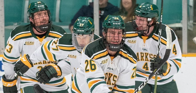 Two late goals propel Clarkson to victory over Guelph