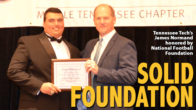 James Normand recognized with National Football Foundation honor