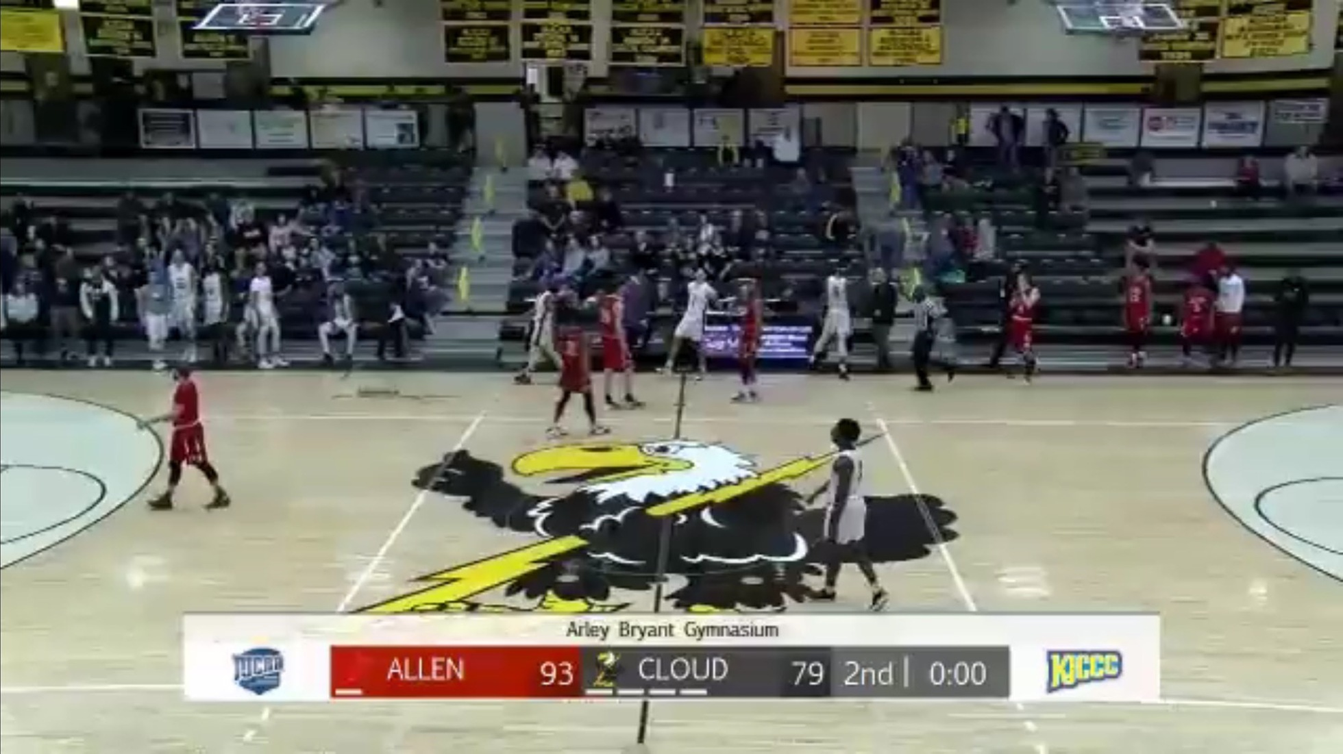 Allen Men Win 3rd Straight Conference Game