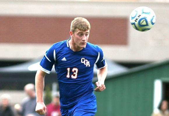 Double Overtime Golden Again for Men's Soccer