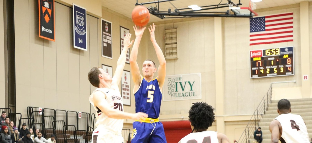 Brown too Much for JWU Men's Basketball 100-61