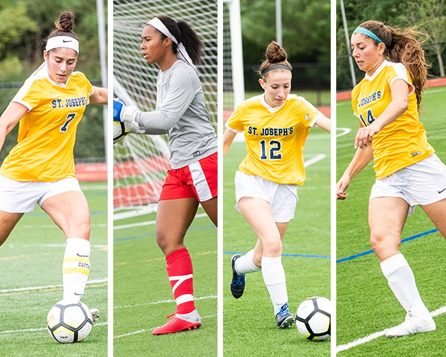 Women's Soccer Places Four on Skyline All-Conference Teams
