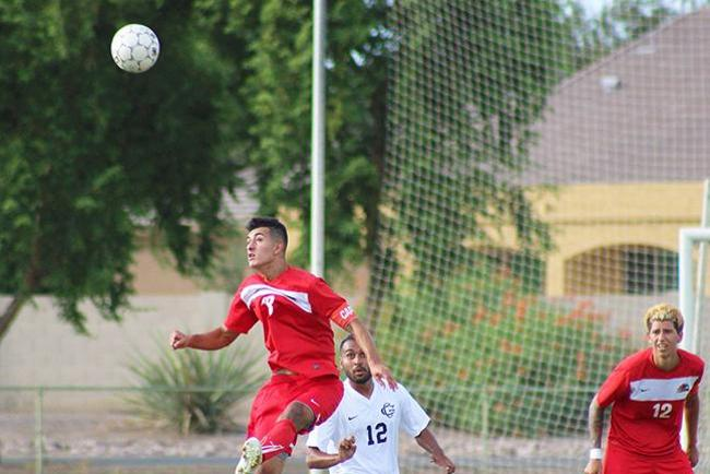 Header by Delgadillo Lifts Mesa in Double OT at Glendale, 3-2