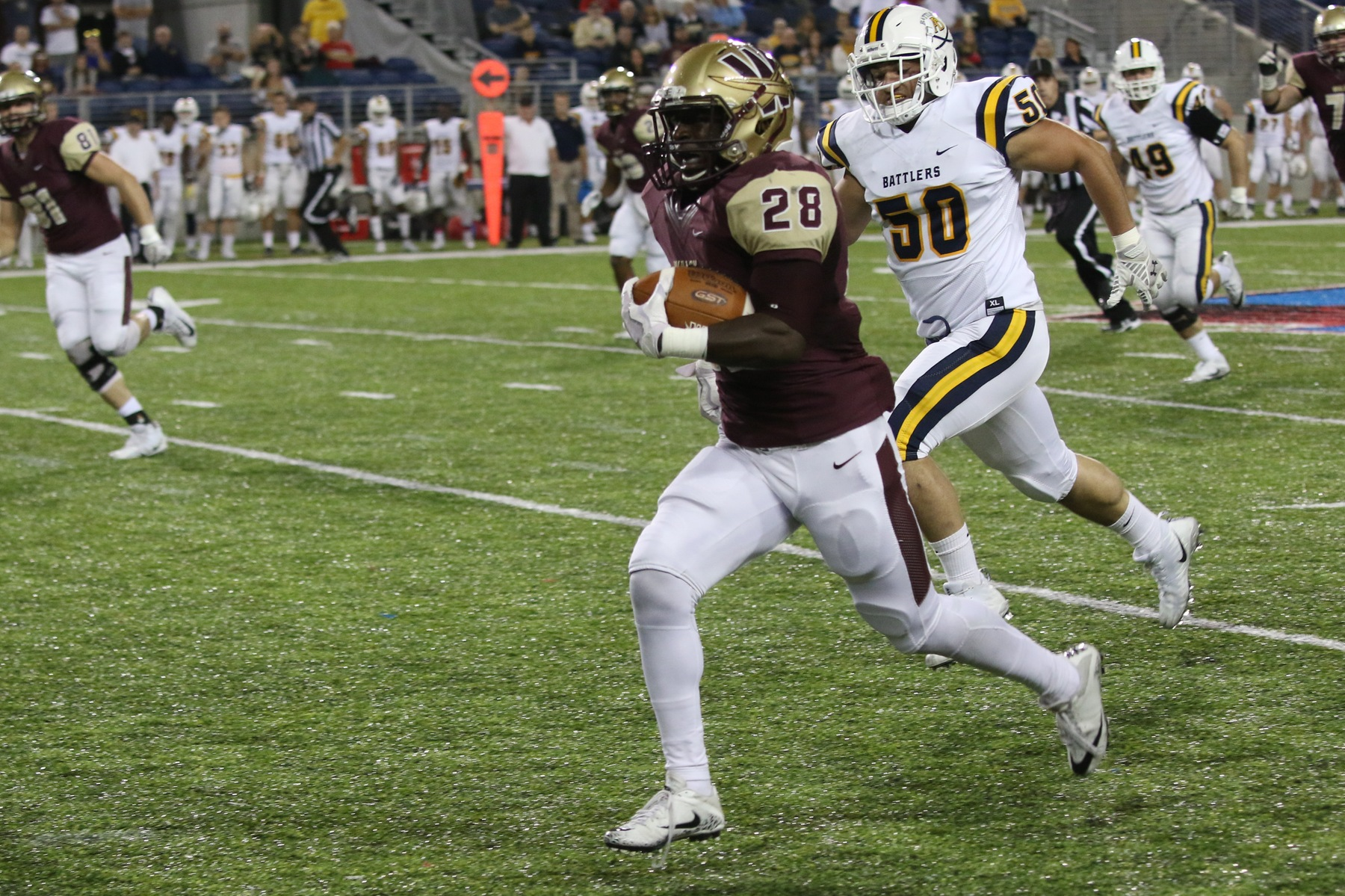 Home Sweet Homecoming For Cavaliers In Win Vs. AB