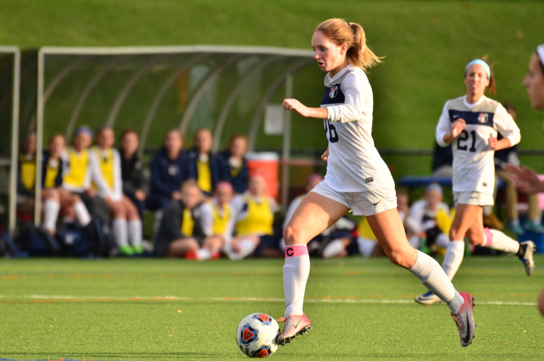 Late First-Half Goals Lift No. 14 Ohio Northern Past Women's Soccer