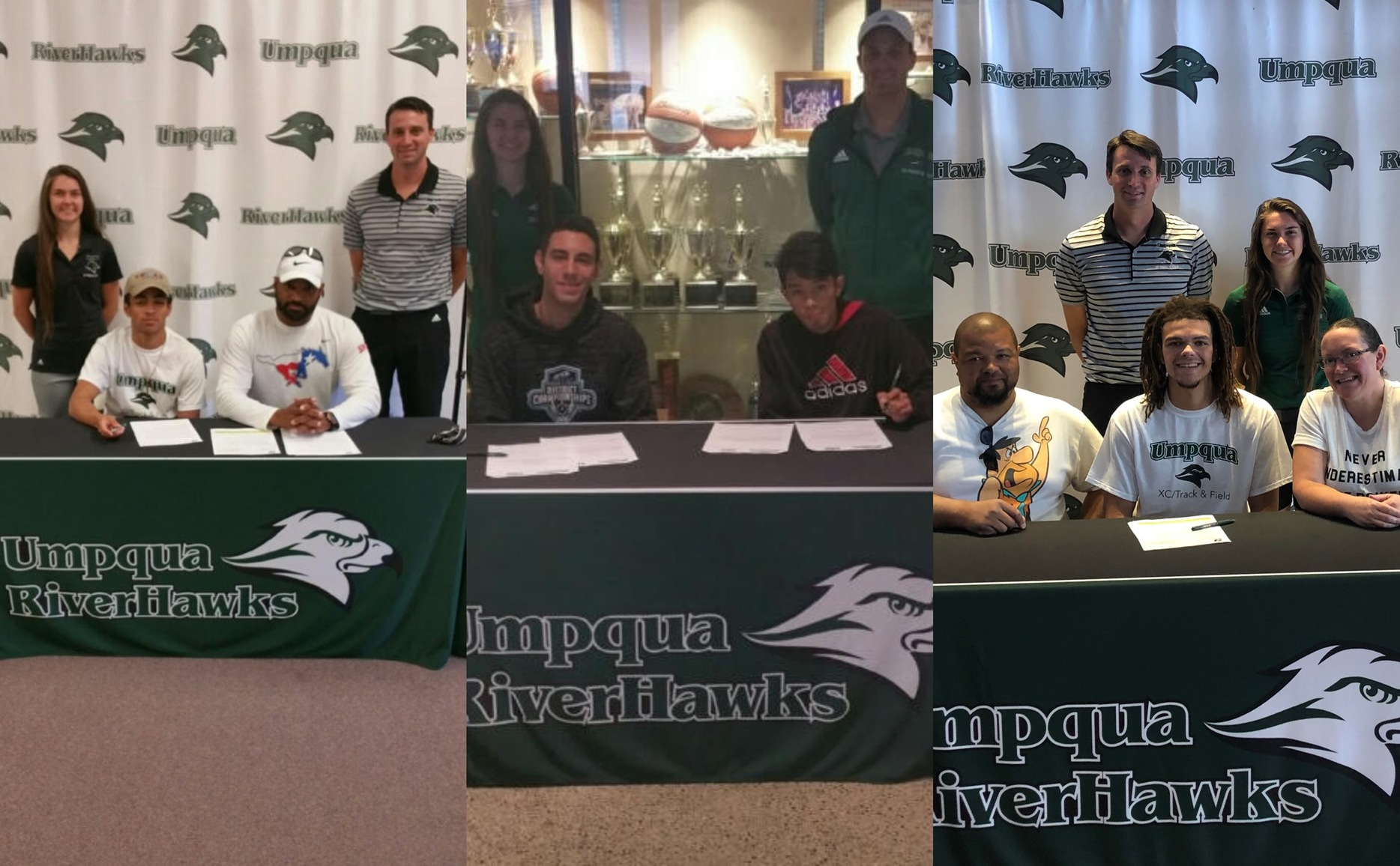 Four Sign with Track and Field / Cross Country