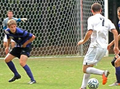 Two Men's Soccer Players Make All-SAA Team