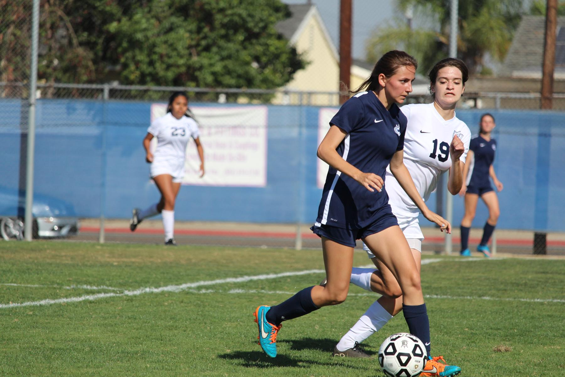 Chargers Defeat Irvine Valley 2-1 in OEC Home Opener
