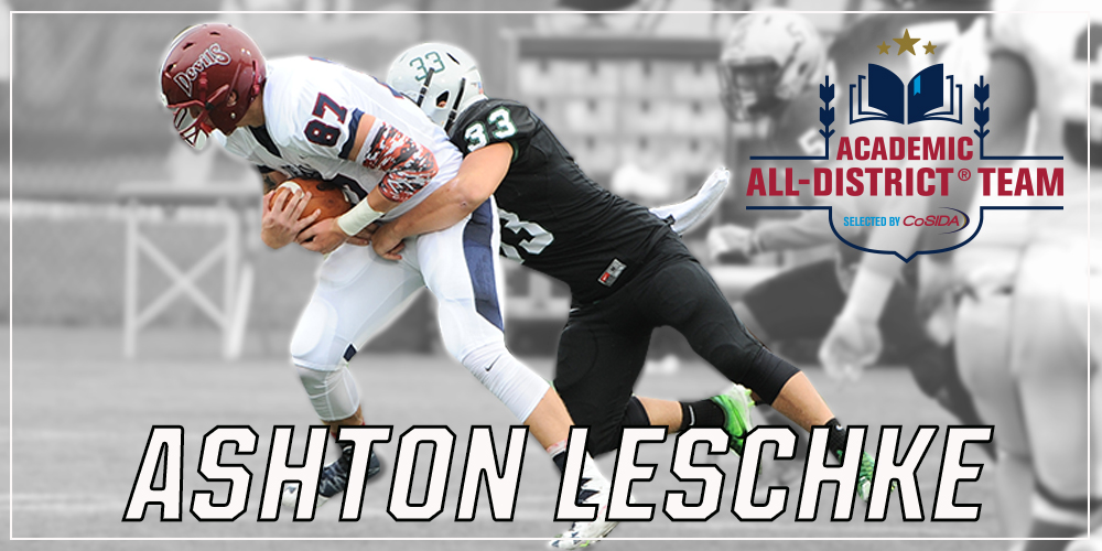 Football's Ashton Leschke Named CoSIDA Academic All-District