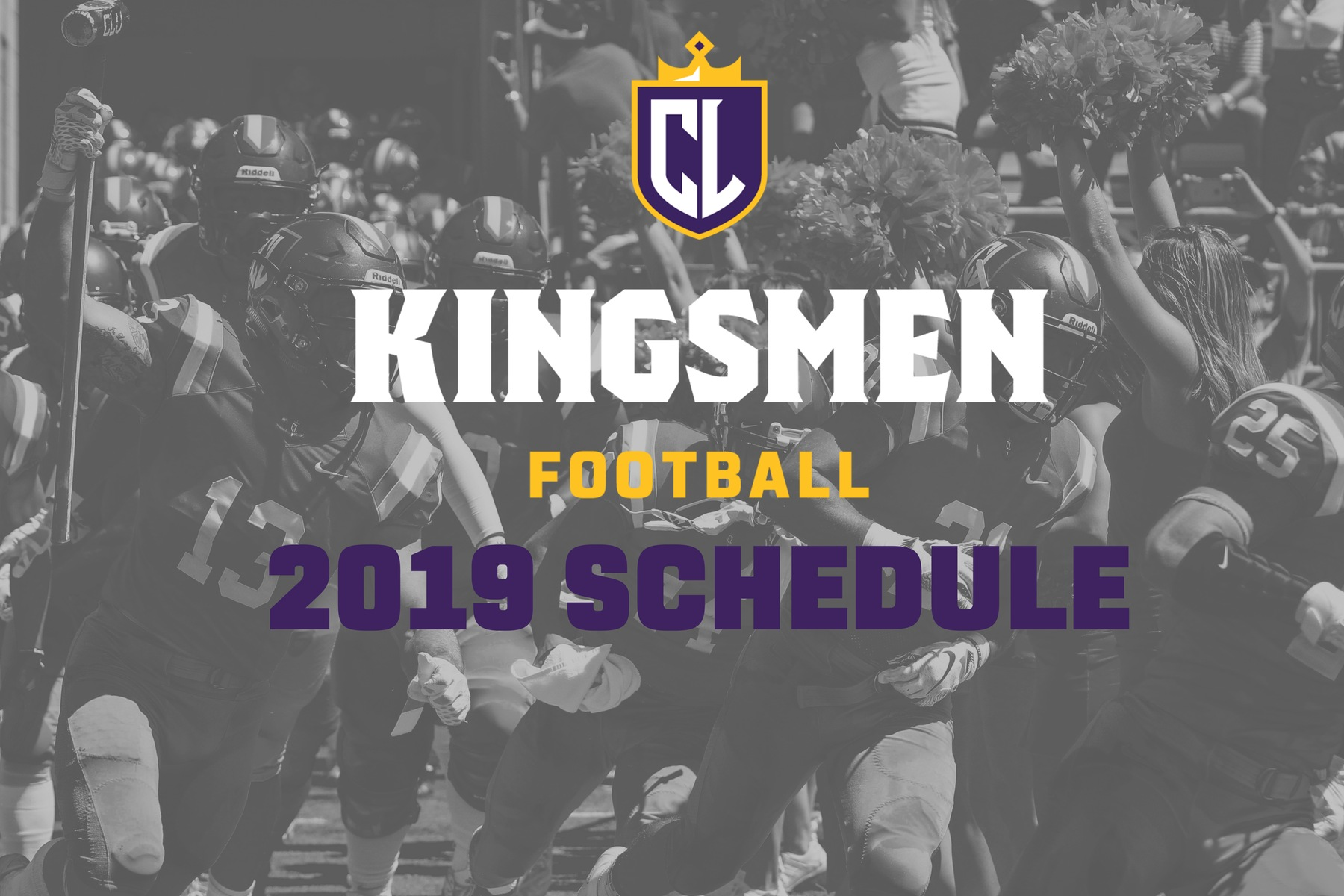 Kingsmen Football Announces 2019 Schedule