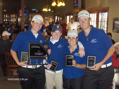 "Coaches think CUW women's golf will ""3-peat"" !"