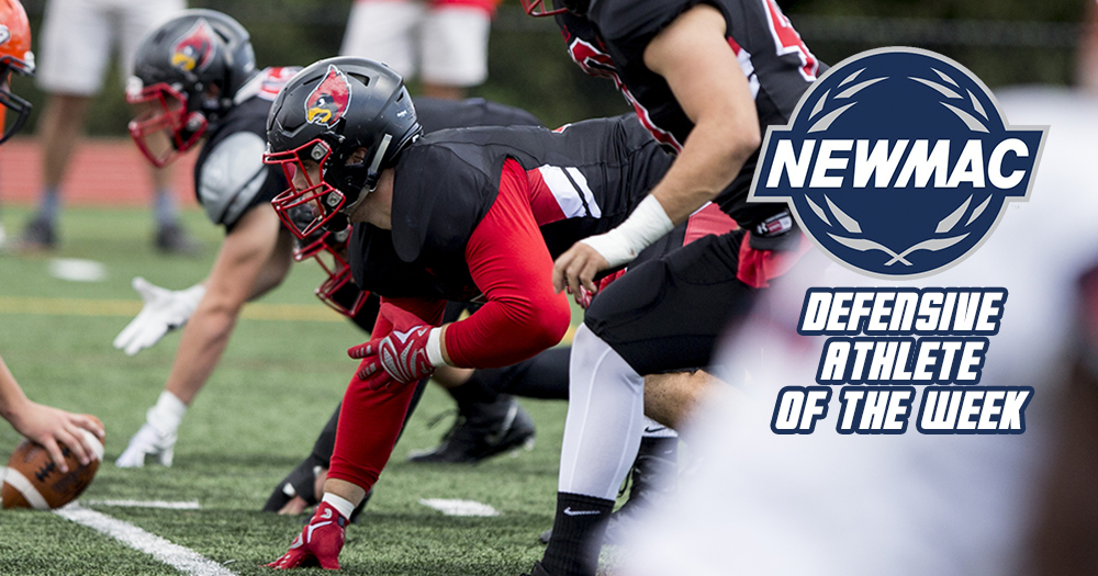 Vidal Earns Second-Straight NEWMAC Football Honor