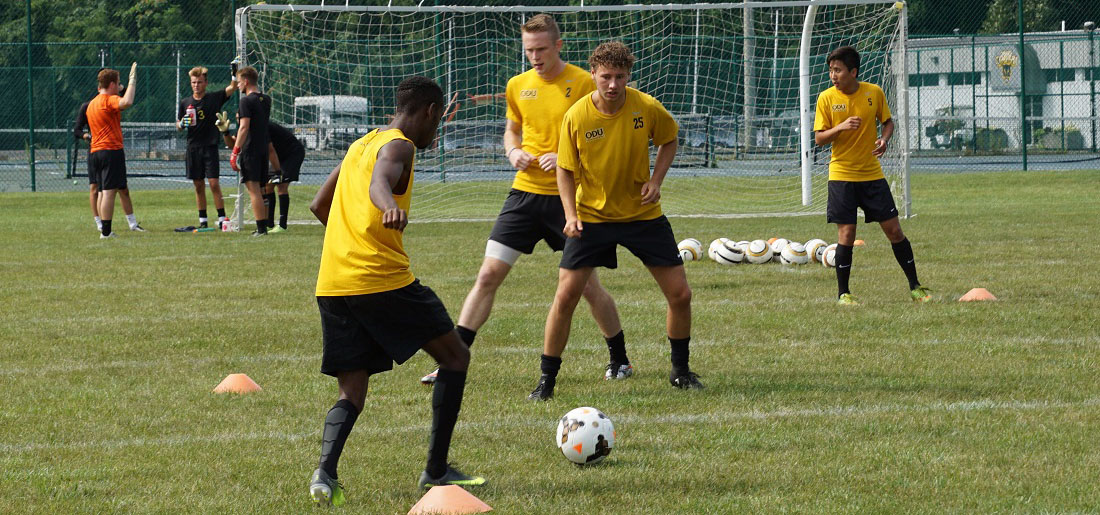 Fall Training Begins For Men's Soccer