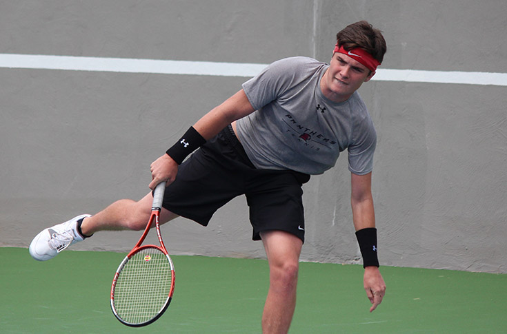 Men's Tennis: Panthers fall to Huntingdon in USA South match