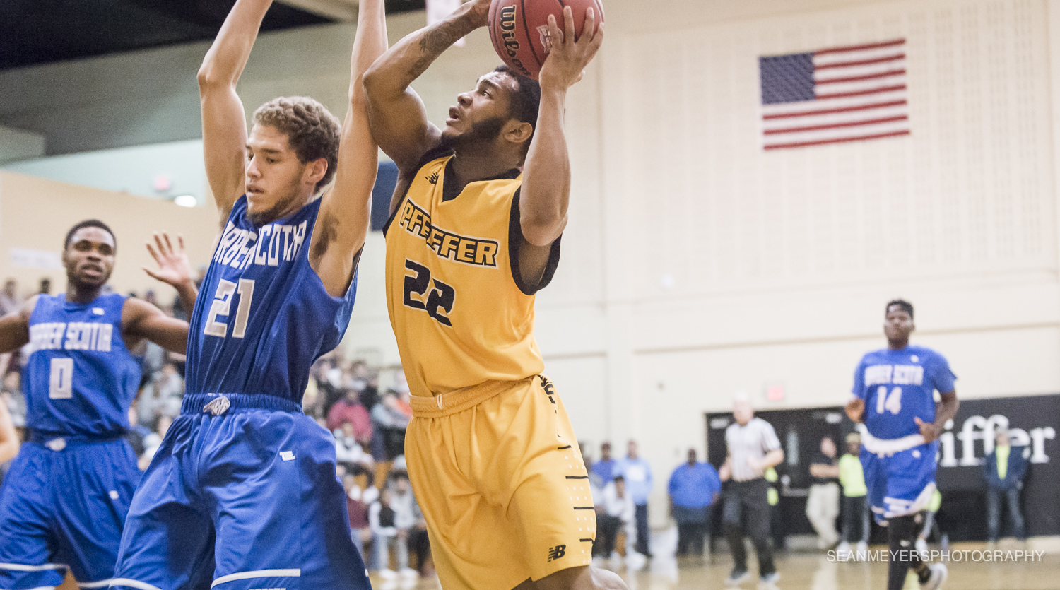 Men's Basketball Goes Cold in Loss at Maryville