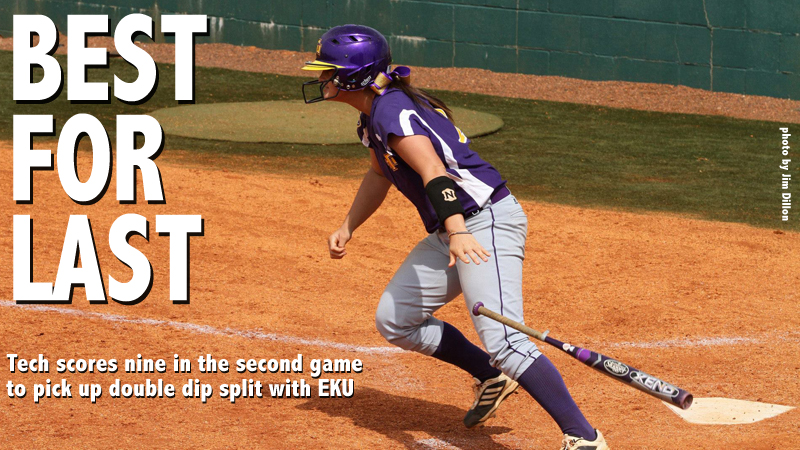 Golden Eagles earn DH split against EKU thanks to fast start in game two