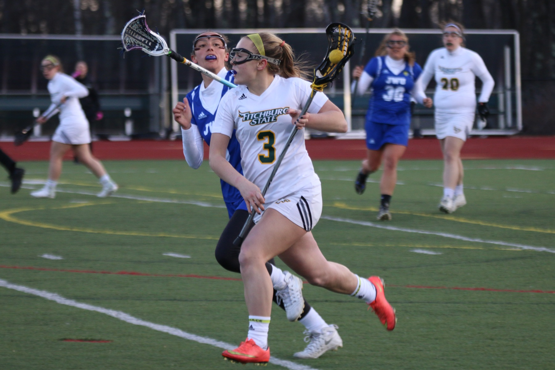 Falcons Soar Past Pride in Lacrosse, 11-7