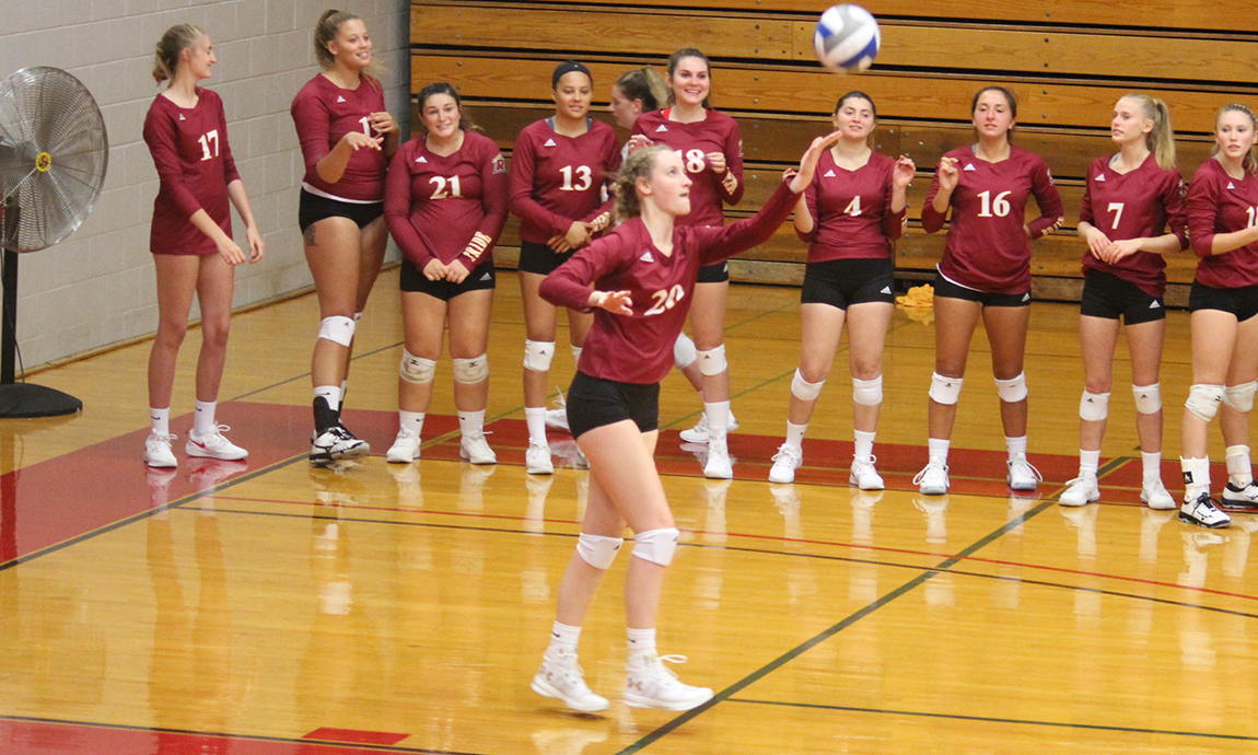 Pride Volleyball Earns Road Sweep Thursday Night