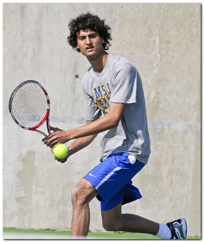 Mount men's tennis team suffers road setback at Berea College, 6-3