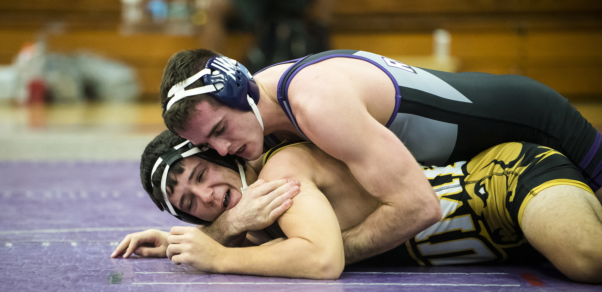 Senior Ian Evans and the wrestling team finished fourth at the Jim Crytzer Invitational at Washington and Lee on Saturday.