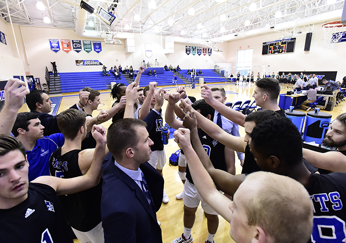 Men's volleyball moves up three spots to No. 11 in latest AVCA ranking