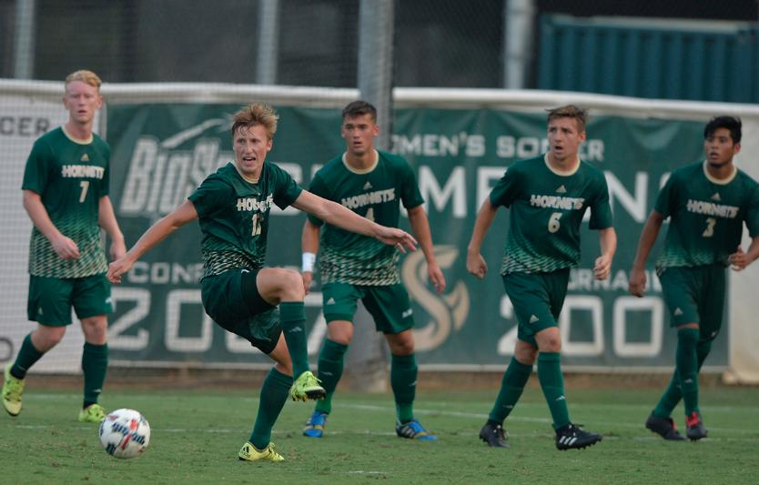 MEN'S SOCCER COMES FROM BEHIND, WINS ON GOLDEN GOAL IN SECOND OT