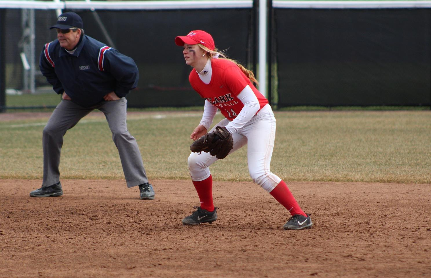 Softball Swept By Babson