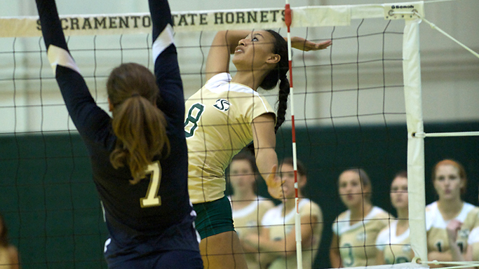 VOLLEYBALL DROPS ROAD MATCH AT NEVADA