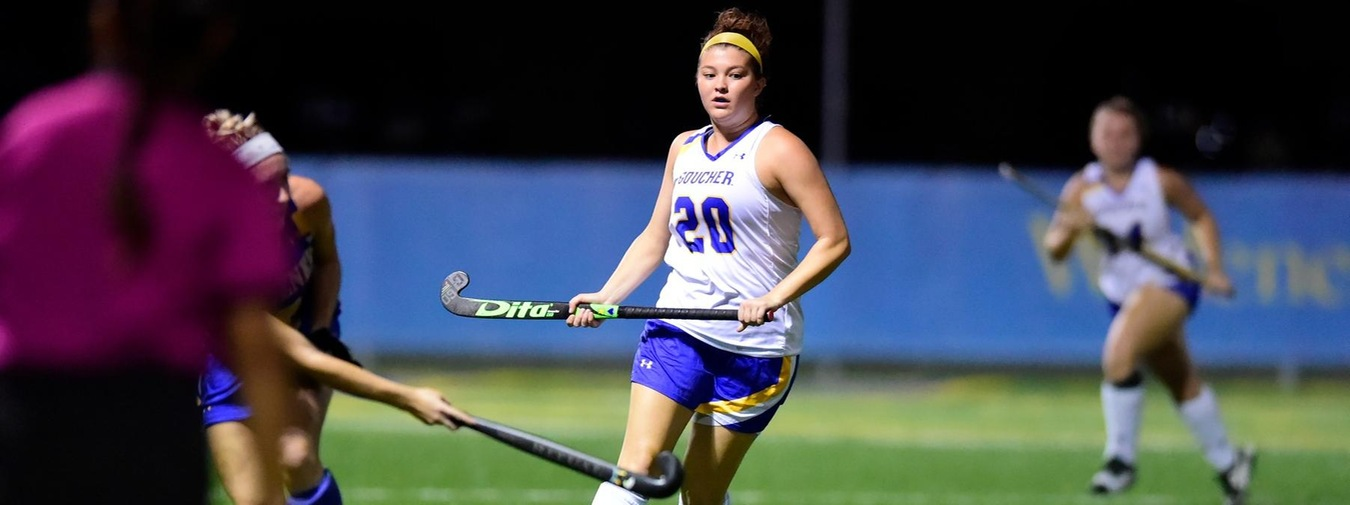 Goucher Field Hockey Upended By Catholic
