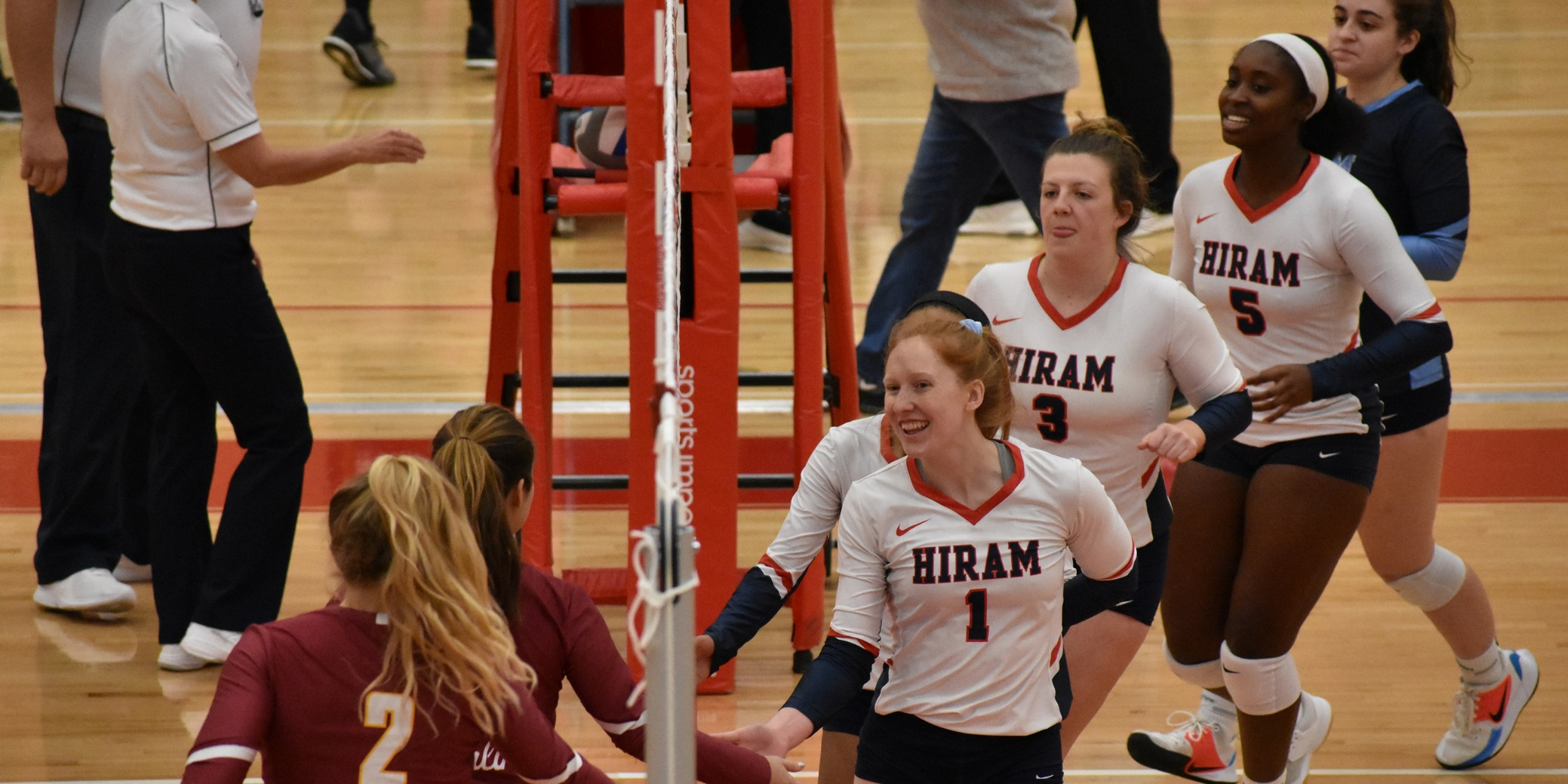 Hiram Women's Volleyball Tops Oberlin, Falls to DePauw in the NCAC Tournament Quarterfinals