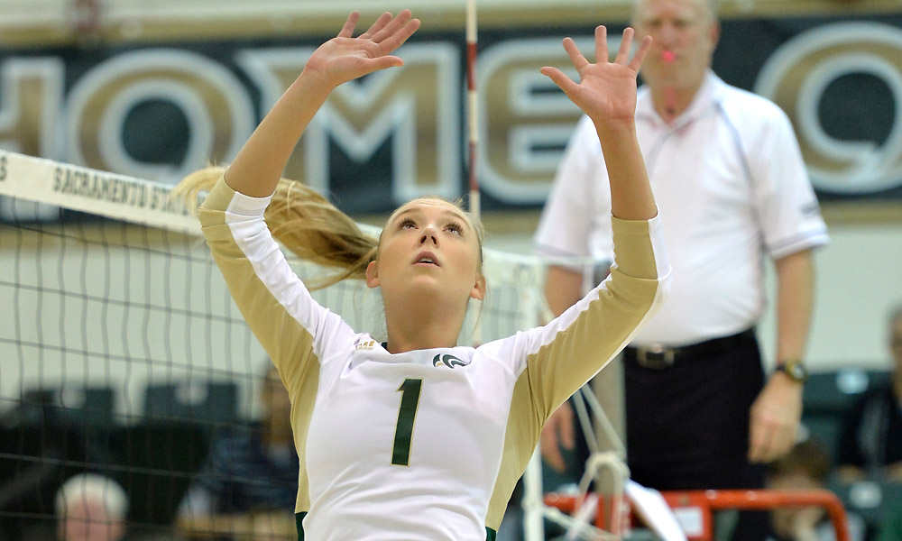 VOLLEYBALL BEGINS ROAD 4-GAME ROAD TRIP; HUGE MATCH AT IDAHO ON THURSDAY